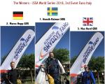3rd Event ISSA World Series 2018, Fano Italy